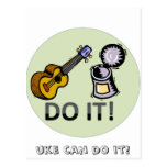 Uke can do it! post cards