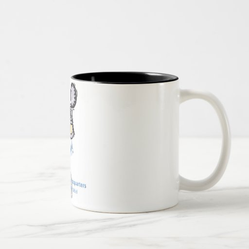 Uke Can Do It! Two-Tone Coffee Mug