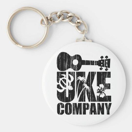 Uke Company Keychain