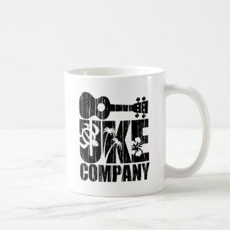 Uke Company Taza Básica Blanca