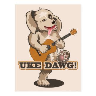 Uke Dawg! Postcard