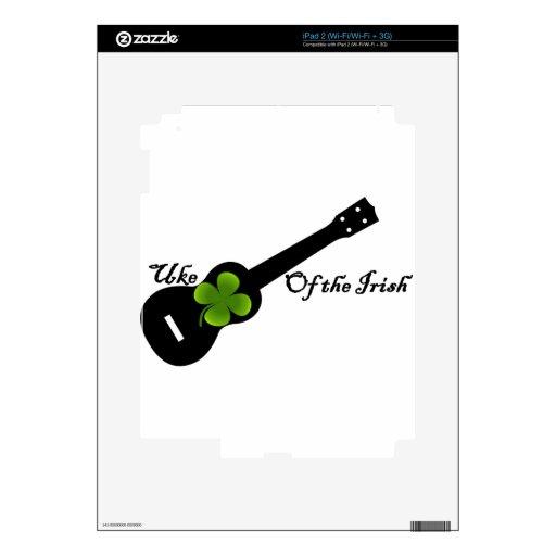 Uke de la 5ta publicación anual irlandesa iPad 2 skins