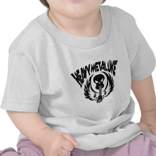 Uke de metales pesados camiseta