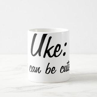 Uke: ¡Los muchachos pueden ser lindos también! Taza De Café