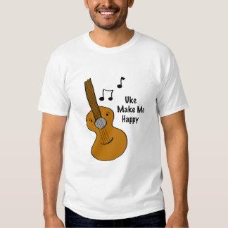 Uke Make Me Happy T-Shirt