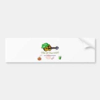Uke of the Irish 2010 Bumper Sticker