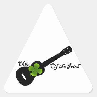 Uke of the Irish 5th Annual Triangle Sticker