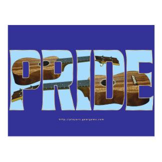 Uke Pride Postcard
