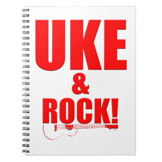 Uke y roca note book