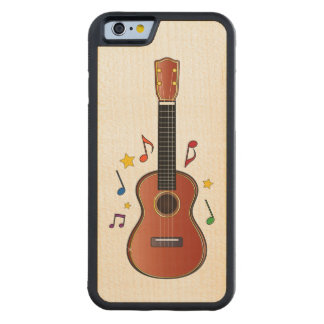 Ukelele! Carved® Maple iPhone 6 Bumper Case