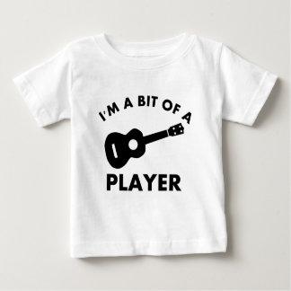 Ukelele musical instrument designs baby T-Shirt