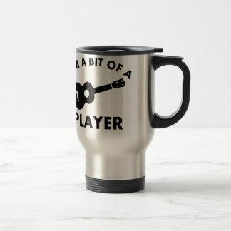 Ukelele musical instrument designs coffee mugs