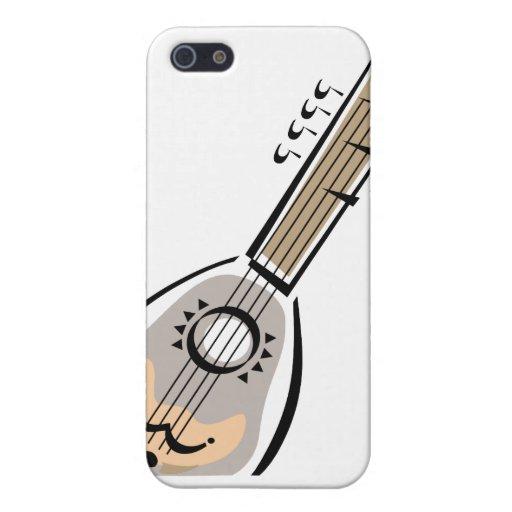 Ukelele, ocho ata, diseño gráfico de la imagen iPhone 5 carcasas