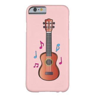 Ukelele with Notes Barely There iPhone 6 Case
