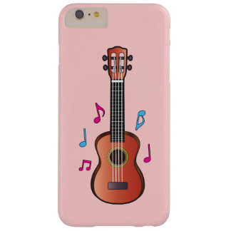 Ukelele with Notes Barely There iPhone 6 Plus Case