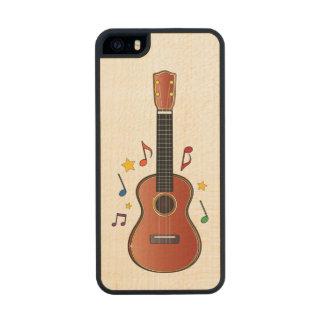 Ukelele! Wood Phone Case For iPhone SE/5/5s