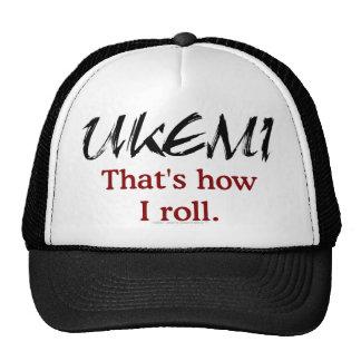 Ukemi - que es cómo ruedo el gorra
