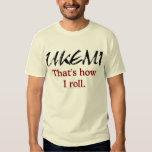 Ukemi - That's How I Roll Men's T-shirt
