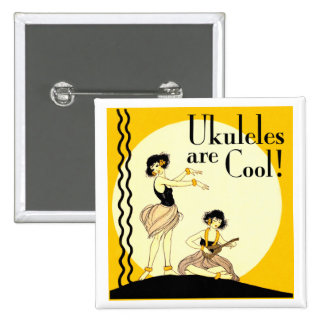 Ukes are Cool! Button