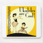 Ukes are Cool! Mousepad