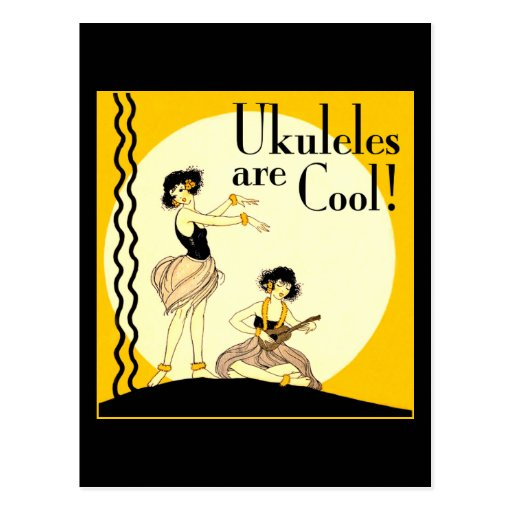 Ukes are Cool! Postcard
