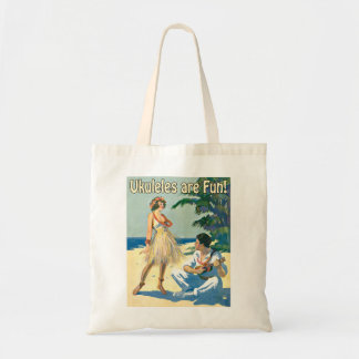 Ukes Are Fun! Tote Bag