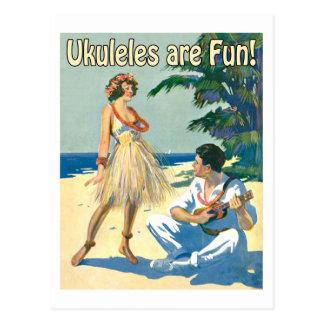¡Ukes es diversión Postal