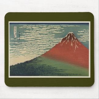 Ukiyo-e Hokusai Fujiyama Mouse Pad