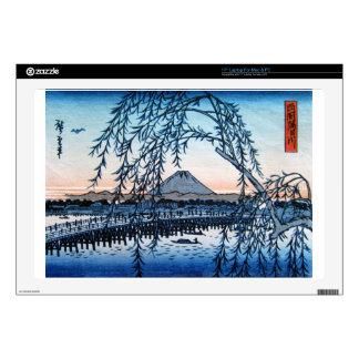"Ukiyo-e Mt. Fuji Japan 17"" Laptop Decal"