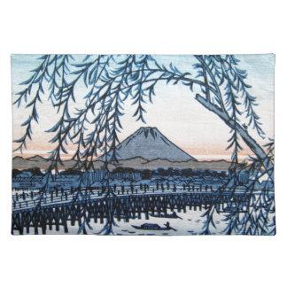 Ukiyo-e Mt. Fuji Japan Placemat