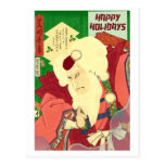 Ukiyo-e Santa Claus Postcards