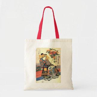 Ukiyo-e Woodblock Art - Geisha Tote Bag