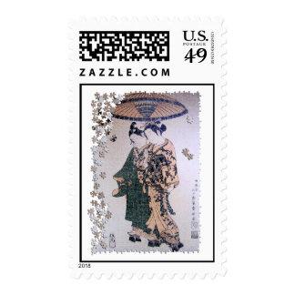 Ukiyo Kabuki Actors Stamps