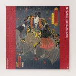 ukiyoe - Akatsuki Hoshigorō - Japanese magician - Jigsaw Puzzle