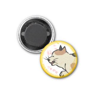 UkiyoE Animals 002 magnet Cat