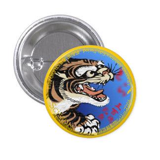 UkiyoE Animals 004 can badge Tiger Pin