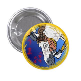 UkiyoE Animals 005 缶バッジ Horse