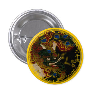 UkiyoE Animals 007 can badge Baku Pin