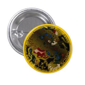UkiyoE Animals 008 can badge Shishi Pins
