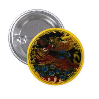 UkiyoE Animals 009 can badge Kirin Pins
