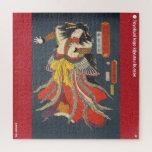 ukiyoe - Ban Jyakutarō - Japanese magician - Jigsaw Puzzle