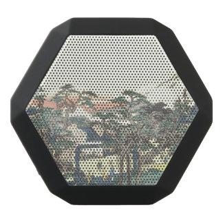 ukiyoe black bluetooth speaker