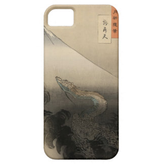 Ukiyoe dragon passing away Ogata month farming iph iPhone SE/5/5s Case