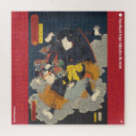 ukiyoe - Kikuchi Kazumaru - Japanese magician - Jigsaw Puzzle