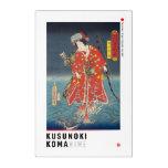 ukiyoe - Kusunoki Koma hime - Japanese magician - Acrylic Print
