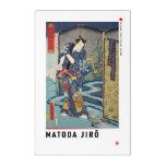 ukiyoe - Matoda Jirō - Japanese magician - Acrylic Print