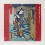 ukiyoe - Matoda Jirō - Japanese magician - Jigsaw Puzzle