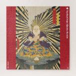 ukiyoe - Mōun kokushi  - Japanese magician - Jigsaw Puzzle