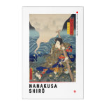 ukiyoe - Nanakusa Shirō - Japanese magician - Acrylic Print