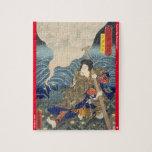 ukiyoe - Nanakusa Shirō - Japanese magician - Jigsaw Puzzle